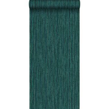 wallpaper bamboo emerald green from Origin