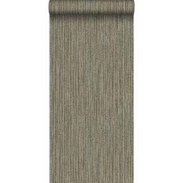 wallpaper bamboo dark taupe from Origin
