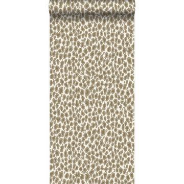 wallpaper leopard skin beige from Origin