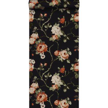 wallpaper flowers black from Origin