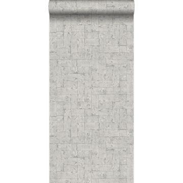 wallpaper bricks light gray from Origin