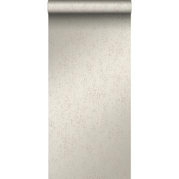 wallpaper metal effect warm silver from Origin