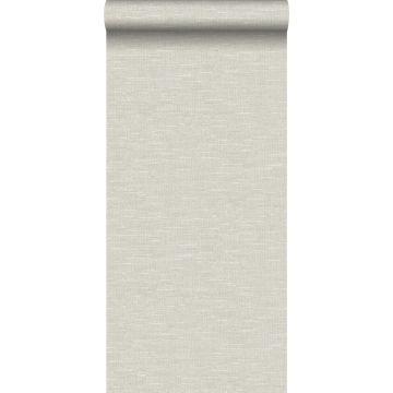 wallpaper linen texture light beige from Origin