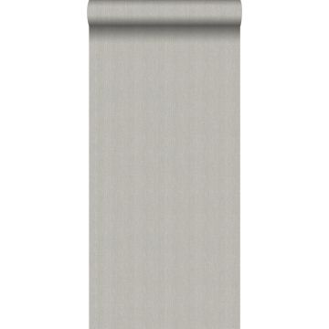 wallpaper twill weave gray from Origin