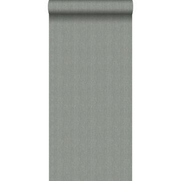 wallpaper twill weave blue grey from Origin