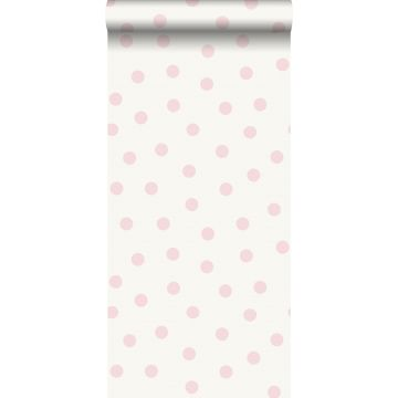 wallpaper dots shiny pink and white from Origin