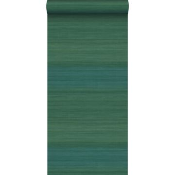 wallpaper woven structure with gradient colours sea green from Origin