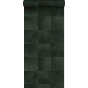 wallpaper animal skin texture dark green from Origin