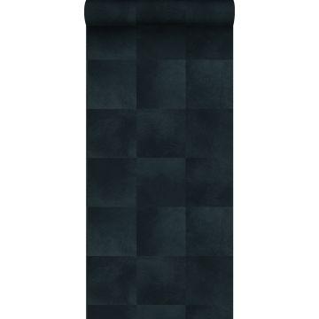 wallpaper animal skin texture ink blue from Origin