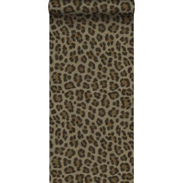 wallpaper leopard skin brown and beige from Origin