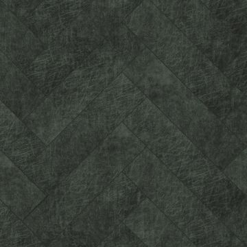 self-adhesive eco-leather tiles herring bone pattern anthracite gray from Origin