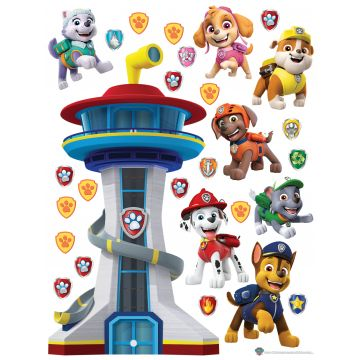 wall sticker PAW patrol blue, red and yellow from Sanders & Sanders