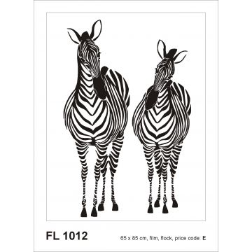 wall sticker zebras black and white from Sanders & Sanders